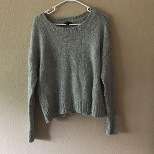Grey and Silver Sweater
